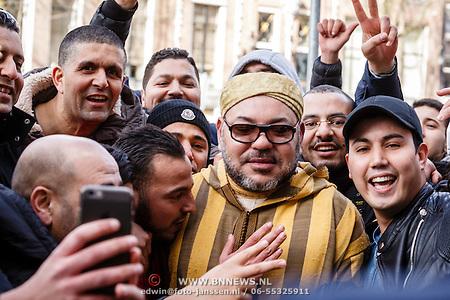 Mohammed VI in Amsterdam