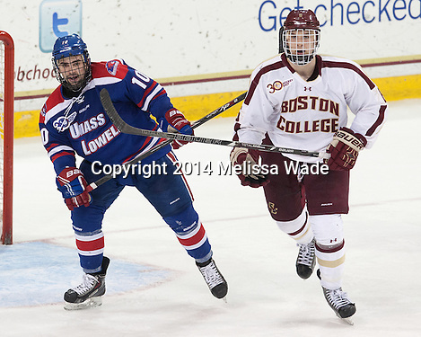 Demko stops 33 as Boston College blanks Lowell
