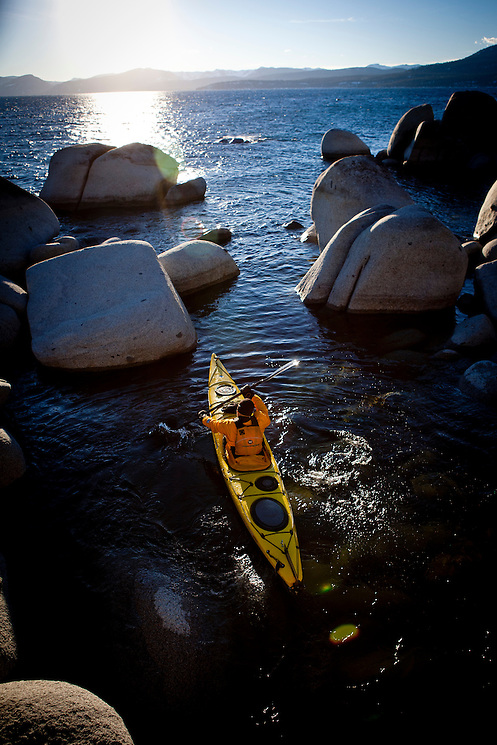 Tahoe Winter Kayaking