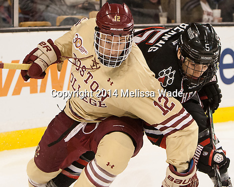Brown tallies late to give Boston College the Beanpot title over Northeastern