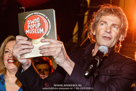 Opening DWDD pop up Museum 2