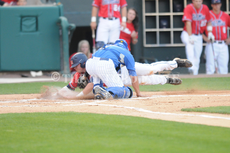 ole miss vs. memphis baseball 041310