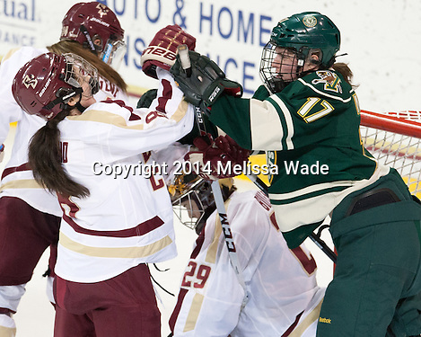 Boyles stops 34 as Boston College blanks Vermont