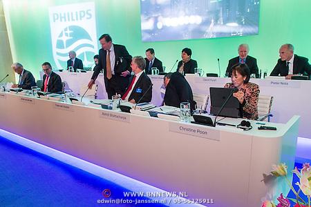 Philips aandeelhoudervergadering 2016