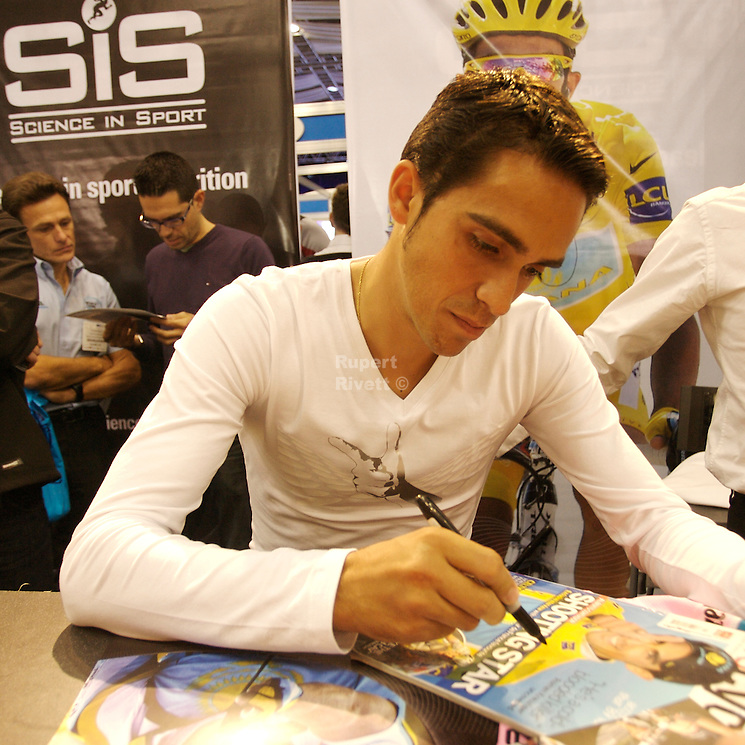 Alberto Contador @ The Cycle Show 2009