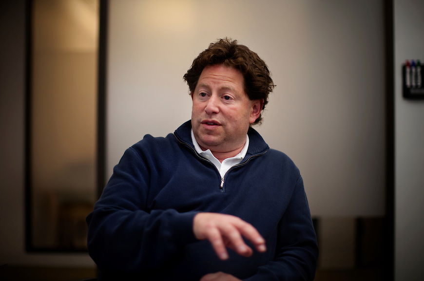Activision CEO Bobby Kotick for WSJ