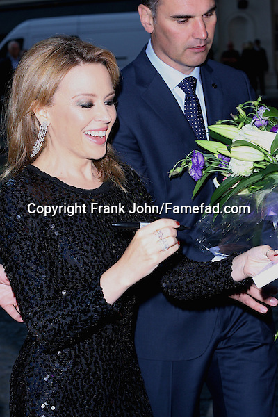 Kylie Minogue and the Holy Motors Premiere London. Photos!