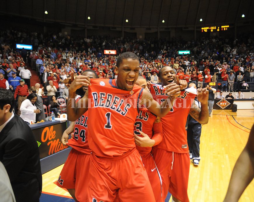 ole miss vs. memphis basketball 031910