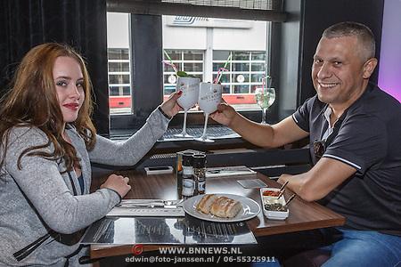 Martin Kok en nwe vriendin