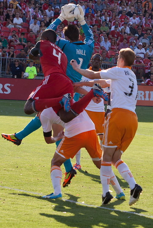Toronto FC vs Houston Dynamo July 28, 2012