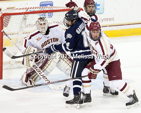 Boston College nets four in the second, pushes past New Hampshire