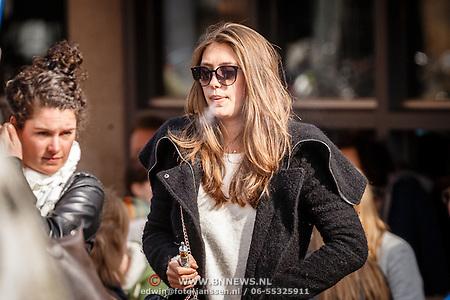Chelsey Weimar in Amsterdam