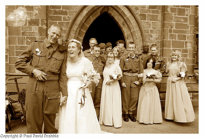 News of 1940 Church Wedding at Fylde Coast Wartime Weekend
