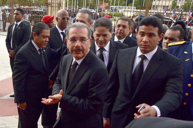 Danilo afirma busca salida a la TC 168, por convicción, y no por presión