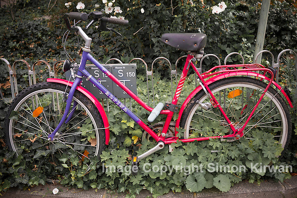 Heidelberg, Germany: Secure Bicycle - Photo By Simon Kirwan