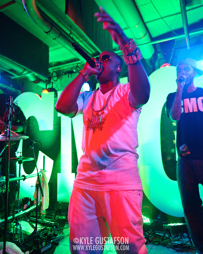 WASHINGTON, DC -  May 15th, 2012 -  Rapper Yo Gotti performs at U Street Music Hall in Washington, D.C. After numerous delays, Gotti released his debut album, Live From the Kitchen, in early 2012. (Photo by Kyle Gustafson/For The Washington Post) (Kyle Gustafson/For The Washington Post)