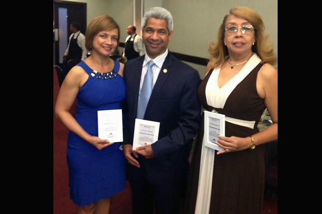 Marilis Pérez de Diaz, Héctor Diaz, Olga Acosta
