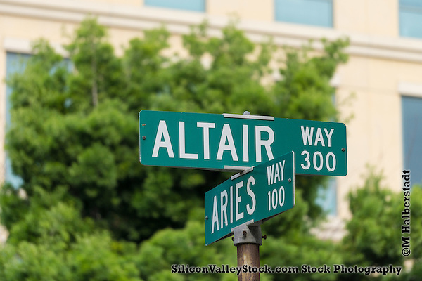 Altair Way Sign (Michael Halberstadt)