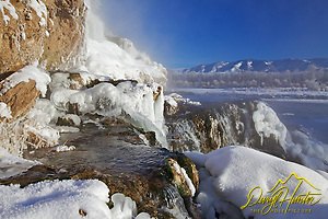 "Winter at Fall Creek Falls in Swan Valley Idaho (© Daryl Hunter's ""The Hole Picture""/Daryl L. Hunter)"