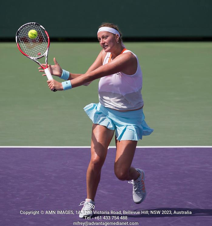 PETRA KVITOVA (CZE) Tennis - Sony Open - ATP-WTA -  Miami -  2014  - USA  -  20 March 2014.  © AMN IMAGES (FREY/FREY- AMN Images)