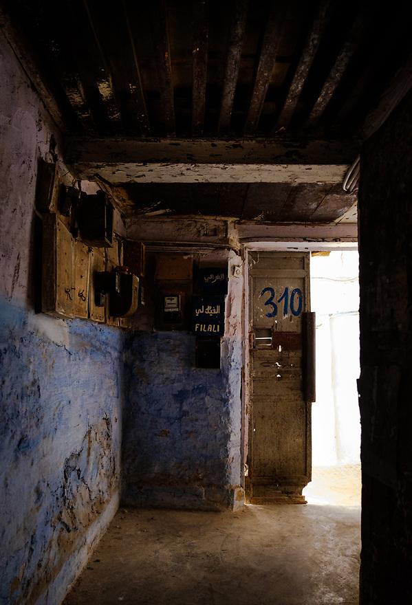 FEZ, MOROCCO - CIRCA APRIL 2017: Alleyway at the Medina in Fez (Daniel Korzeniewski)
