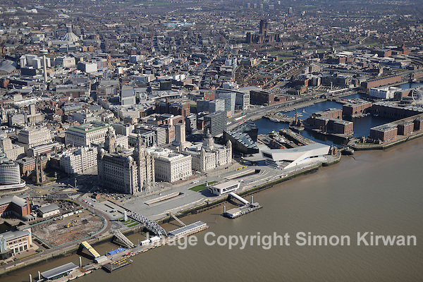 Liverpool Waterfront Aerial Views - photography by Simon Kirwan