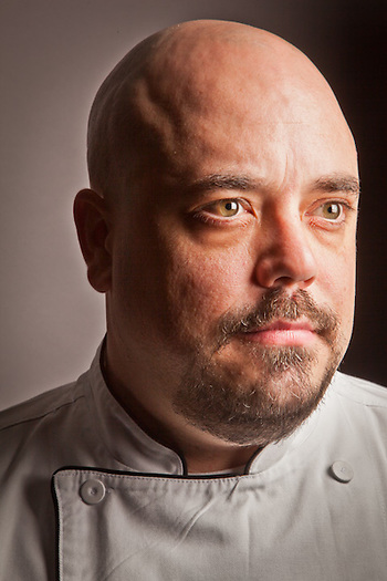 Guy Conley, Executive Chef, Ginger, Anchorage (Clark James Mishler)