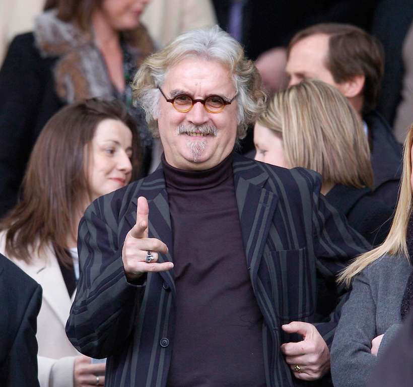 16TH APR 2006, CELTIC V HIBS AT CELTIC PARK, BILLY CONNOLLY IN THE MAIN STAND, ROB CASEY PHOTOGRAPHY (ROB CASEY/ROB CASEY PHOTOGRAPHY)