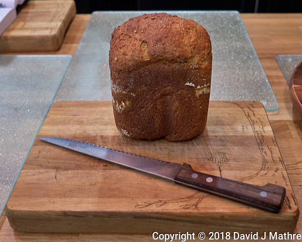 Making Bread -- Whole Wheat & Other Grains. Image taken with a Leica CL camera and 18 mm f/2.8 lens (David J Mathre)