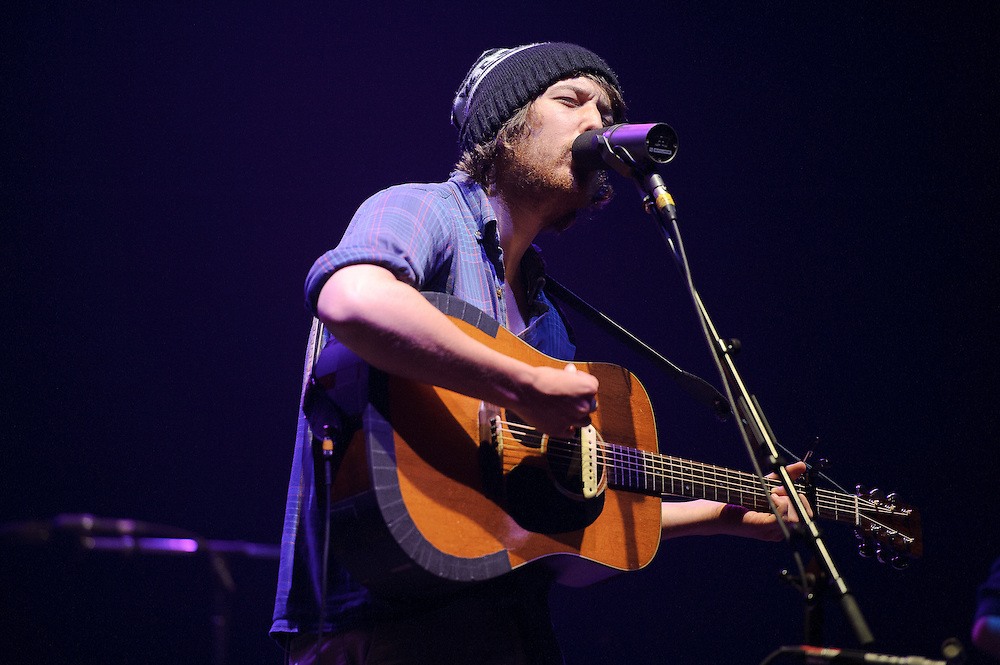 Photos of Portland-based folk band Fleet Foxes performing at United Palace Theatre, NYC. May 18, 2011. Copyright © 2011 Matthew Eisman. All Rights Reserved. (Matthew Eisman)