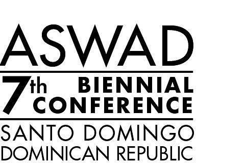 Anuncio de la conferencia de ASWAD en Santo Domingo
