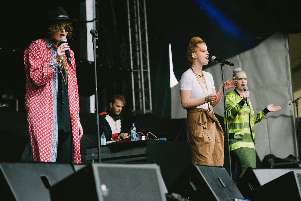 Photos of Sísí Ey performing live at Secret Solstice Music Festival 2014 in Reykjavík, Iceland. June 21, 2014. Copyright © 2014 Matthew Eisman. All Rights Reserved (Matthew Eisman/Photo by Matthew Eisman)