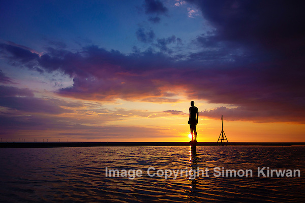 Antony Gormley: Another Place, Crosby Beach - Photo By Simon Kirwan