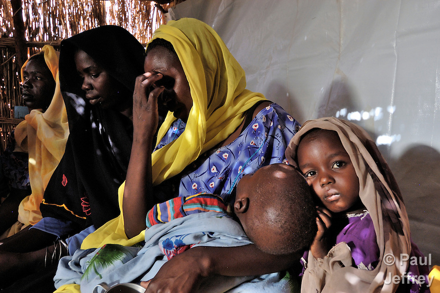 In the Ardabba displaced persons camp near Garsila, Darfur, ACT-Caritas provides primary health care to displaced families as well as members of the local host community. Yet there is often a wait to see the doctor...