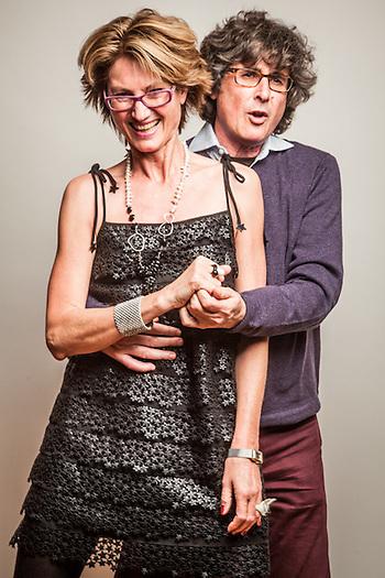Petra and Simon Lisiecki, Anchorage (Clark James Mishler)