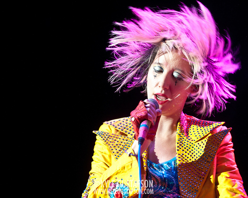 The Yeah Yeah Yeahs at the 2013 Sweetlife Festival (Kyle Gustafson/Photo by Kyle Gustafson)