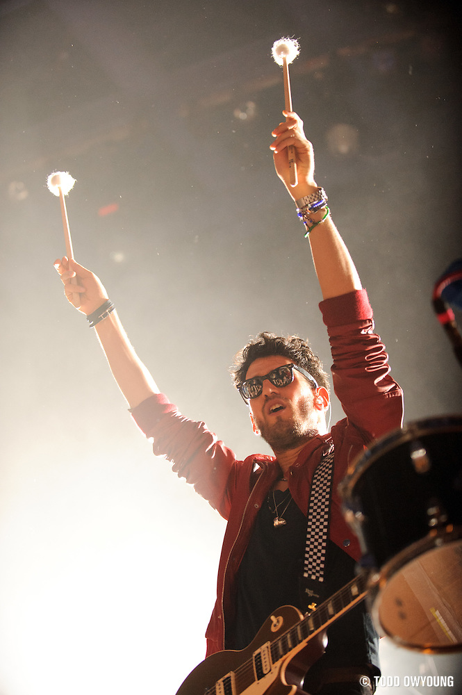 Chromeo performing at the Pageant in St. Louis on October 24, 2011. (Todd Owyoung)
