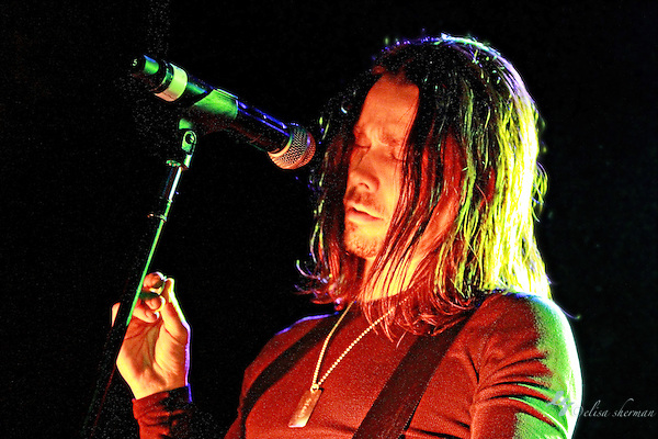 "Myles Kennedy of Alter Bridge performs on January 1st, 2011 in support of CD ""AB III""  at the Showbox Market in Seattle, Washington (Elisa Sherman)"