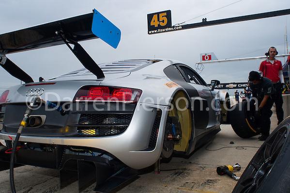 #45 Flying Lizard Motorsports Audi R8: TBA (Darren Pierson)