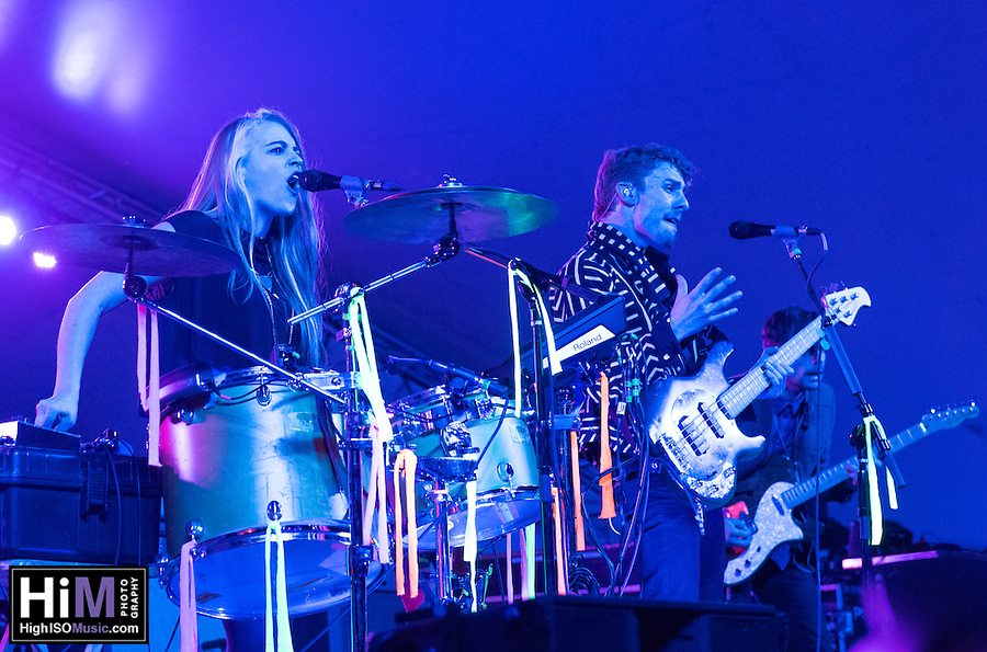 The Givers perform at the 2014 Voodoo Music Experience in New Orleans, LA. (HIGH ISO Music, LLC)