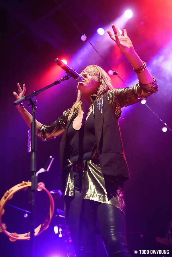 Grace Potter and the Nocturnals performing at the Pageant in St. Louis on January 10, 2013 on the opener of their 2013 tour. (Todd Owyoung)