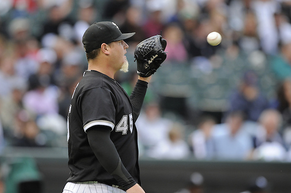 CHICAGO - JULY 18:  Bobby Jenks #45 of the Chicago White Sox pitches against the Baltimore Orioles on July 18, 2009 at U.S. Cellular Field in Chicago, Illinois.  The White Sox defeated the Orioles 4-3.  (Photo by Ron Vesely) (Ron Vesely)
