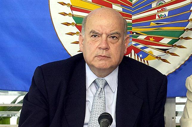 José Miguel Insulza, secretario general de la OEA