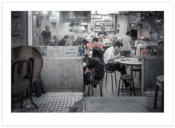 Street Diner - Hong Kong (Ian Mylam/© Ian Mylam (www.ianmylam.com))