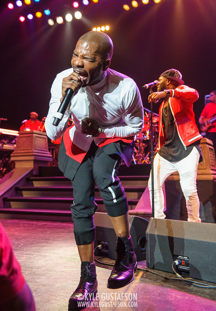 WASHINGTON, DC - March 19th, 2016 - Gospel artist Kirk Franklin performs at the Warner Theatre in Washington, D.C. as part of his 20 Years in One Night tour. Franklin released his twelfth studio album late last year and was recently featured on Kanye West's new album, The Life of Pablo. (Photo by Kyle Gustafson / For The Washington Post) (Kyle Gustafson/For The Washington Post)