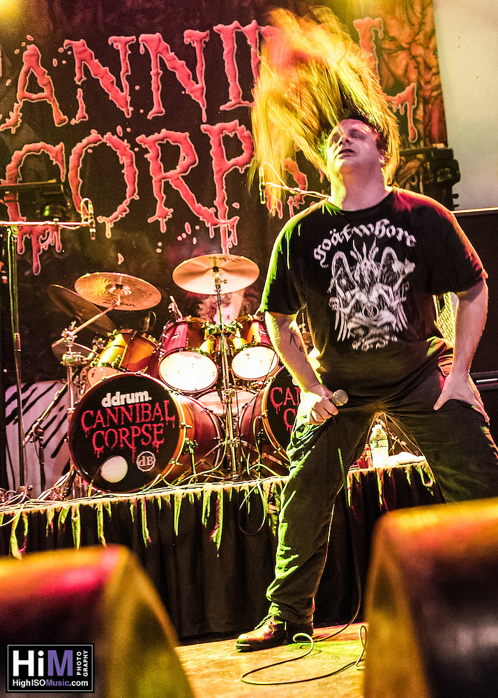 Cannibal Corpse performs at the House of Blues in New Orleans, LA. (2015)