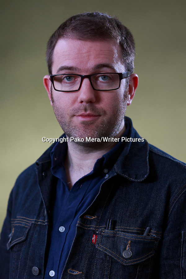 Adam Murphy at Edinburgh International Book Festival 2014. 23rd August 2014 Picture by Pako Mera/Writer Pictures WORLD RIGHTS (Pako Mera/Writer Pictures)