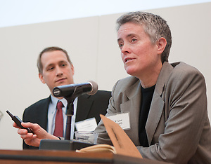 The Ecomomics of Gay Marriage panel discussion presented by Manhattan Chamber of Commerce held at MetLife Conference Center in New York. (Jeffrey Holmes/JeffreyHolmes.com)