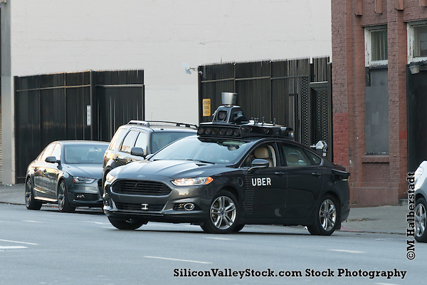 Uber Self Driving Car, San Francisco (michael halberstadt)