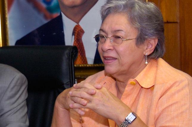 Altagracia Guzmán Marcelino, directora de SENASA